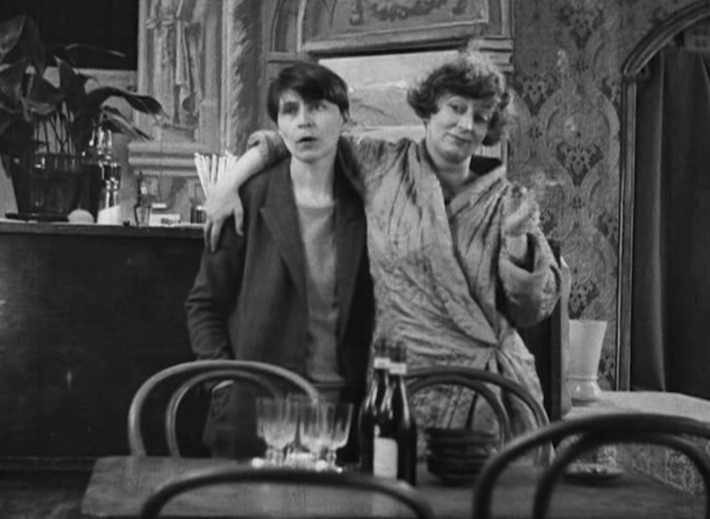 BRYHER AND HD, STILL FROM KENNETH MCPHERSON'S FILM BORDERLINE, 1930